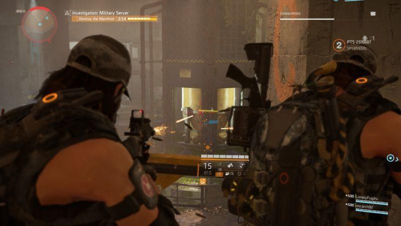 division 2 - kenly metro station - deployed military server mission walkthrough