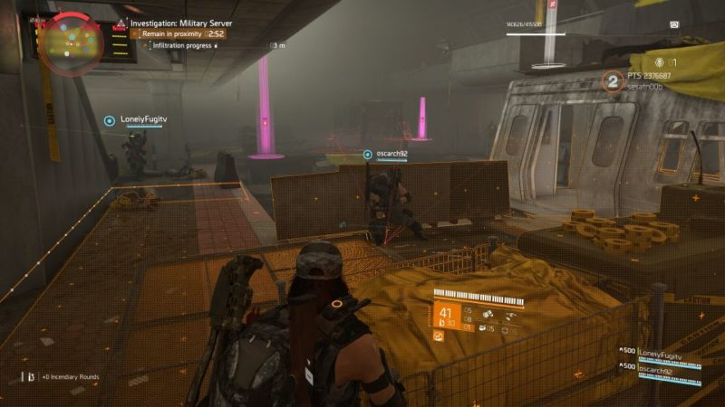division 2 - kenly metro station - deployed military server quest guide