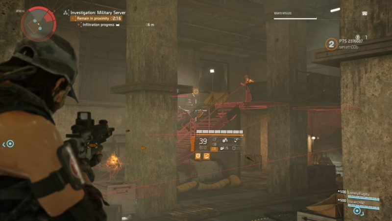 division 2 - kenly metro station - deployed military server quest tips