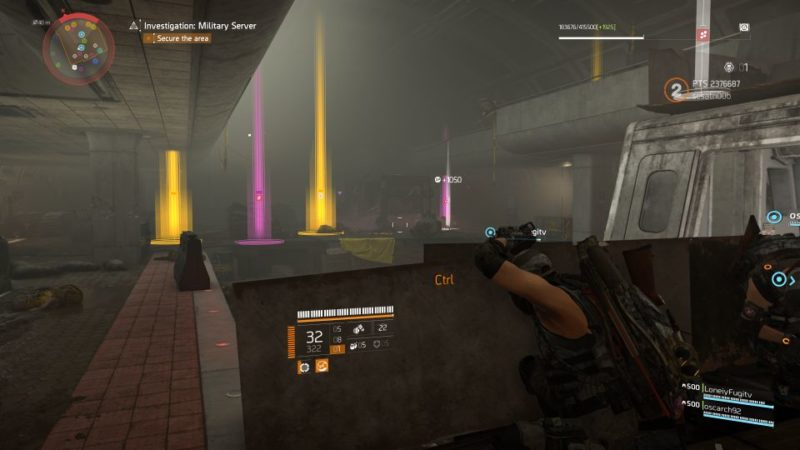 division 2 - kenly metro station - deployed military server quest walkthrough