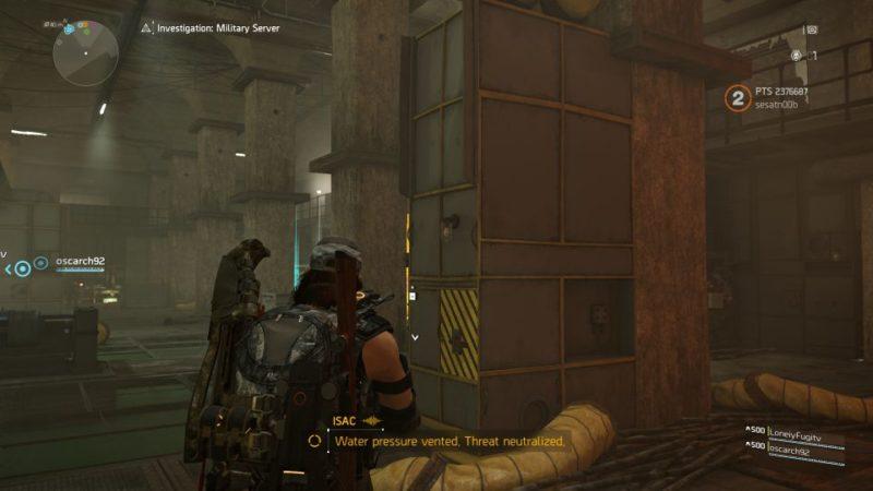 division 2 - kenly metro station - deployed military server - restart system