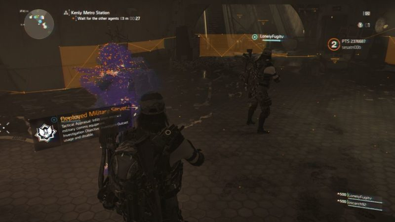 division 2 - kenly metro station - deployed military server wiki and guide