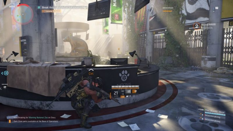 division 2 - manning national zoo guide help