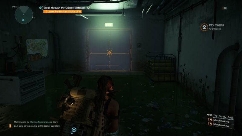 division 2 - manning national zoo - how to activate quest