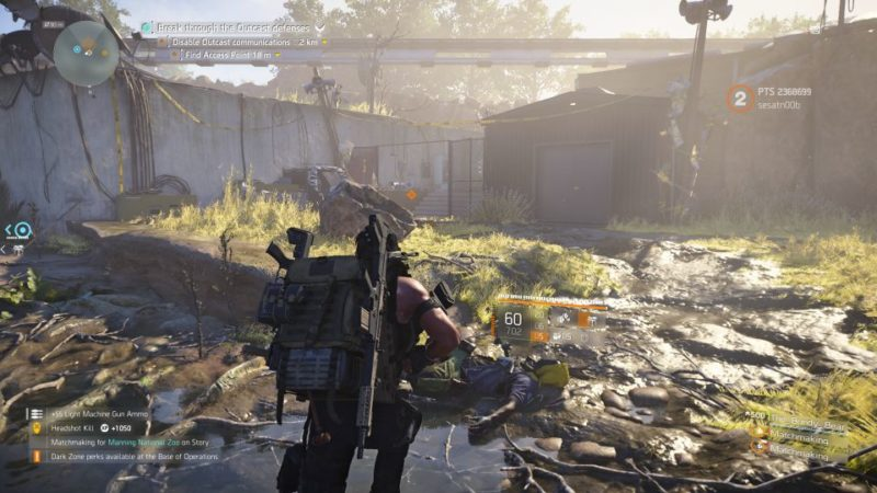 division 2 - manning national zoo mission tips