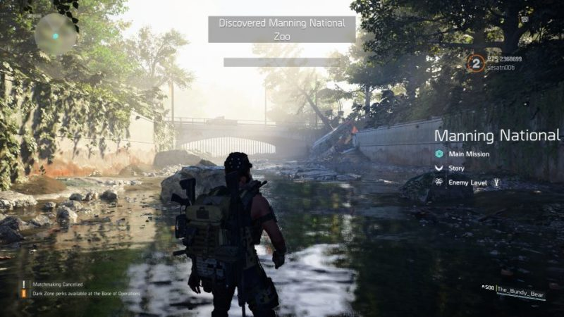 Manning National Zoo: The Division 2 Walkthrough