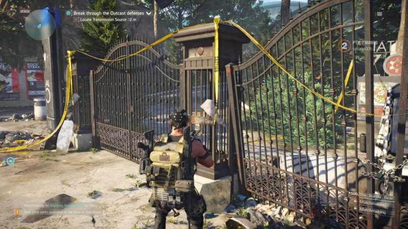 division 2 - manning national zoo quest guide