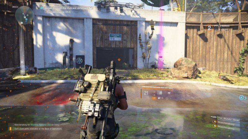 division 2 - manning national zoo tips guide