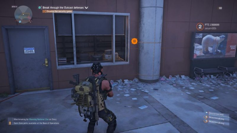 division 2 - manning national zoo - where to go