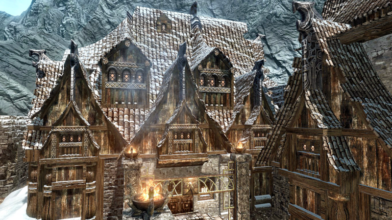 top houses in skyrim