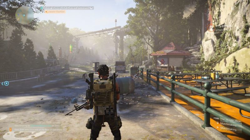 manning national zoo - the division 2