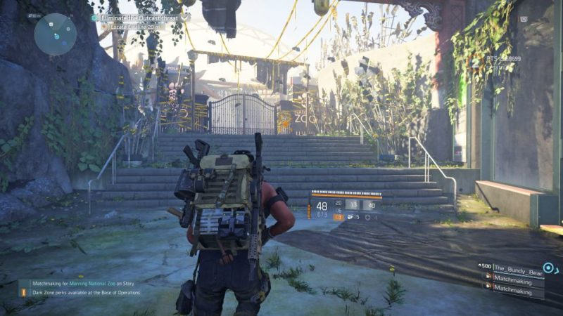 manning national zoo - the division 2 mission objectives