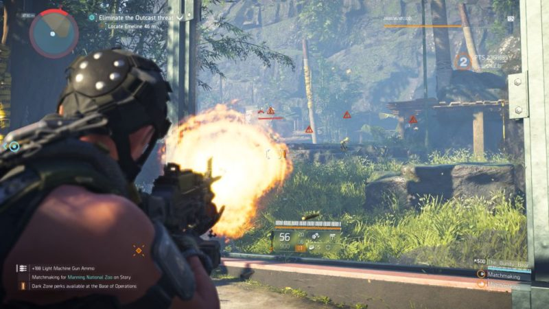 manning national zoo - the division 2 mission tips