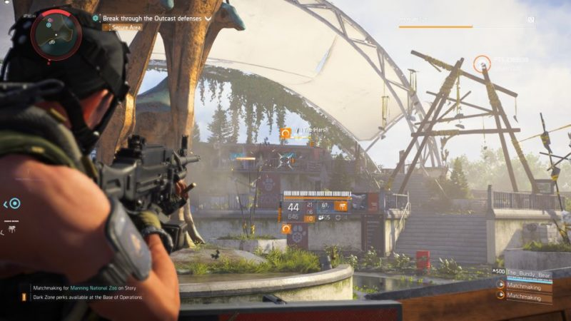 manning national zoo - the division 2 quest help