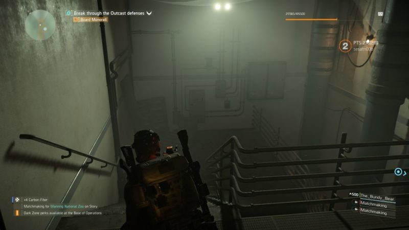 manning national zoo - the division 2 quest objective