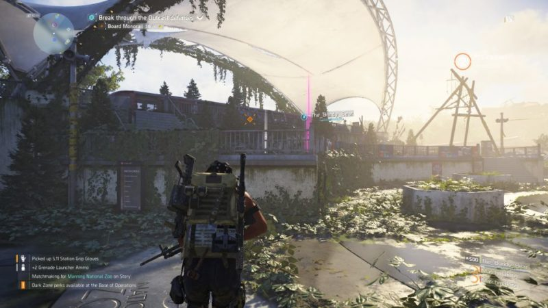 manning national zoo - the division 2 quest tips