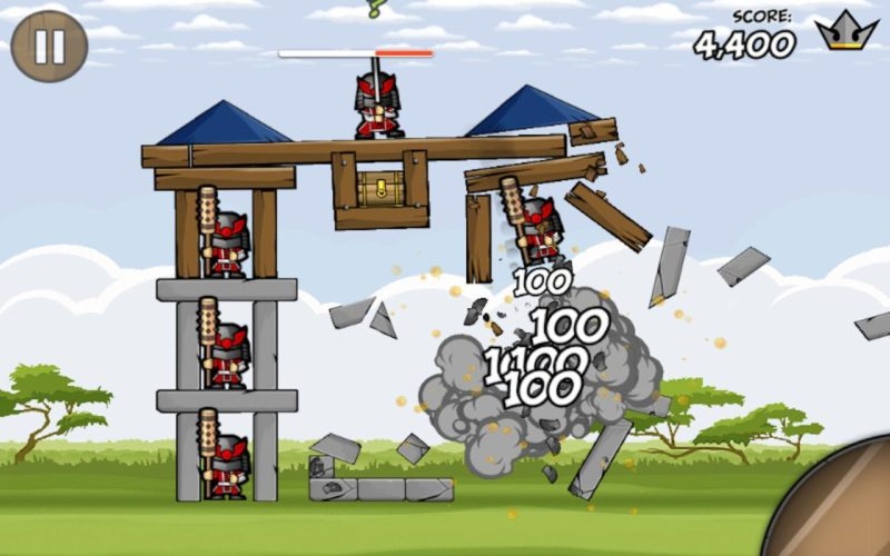 mobile games like angry birds
