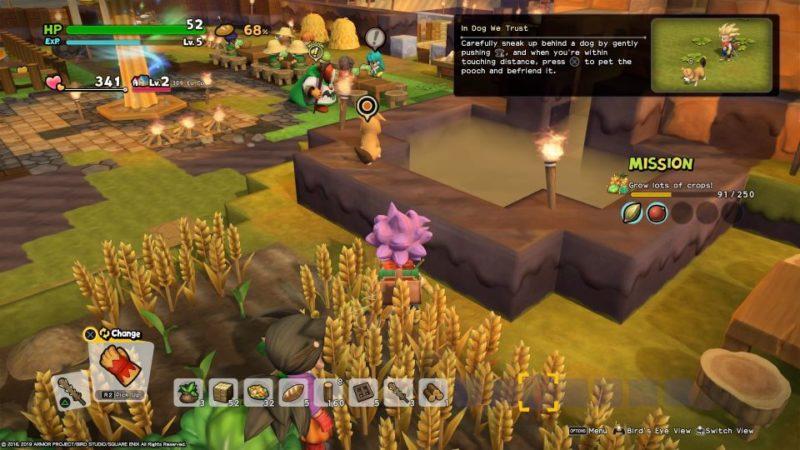 dq builders 2 - furrowfield how to get pumpkin seed