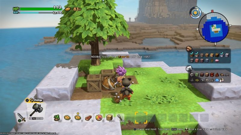 dq builders 2 iridescent island guide