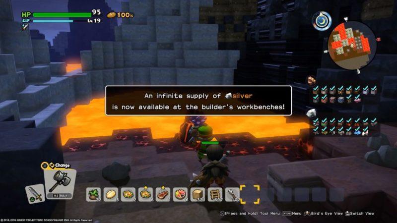 dq builders 2 iridescent island - how to find merchant