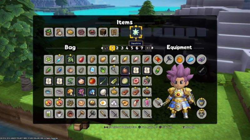 dq builders 2 laguna perfuma how to find all materials