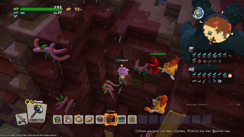 dq builders 2 - unholy holm walkthrough