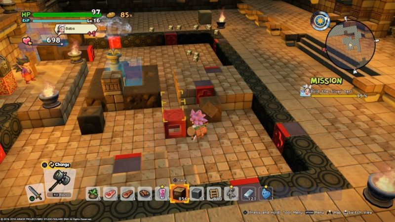 dqb2 - pull red box to blue tile