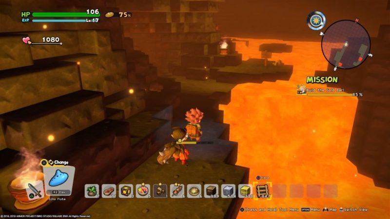 dragon quest builders 2 - diamond location