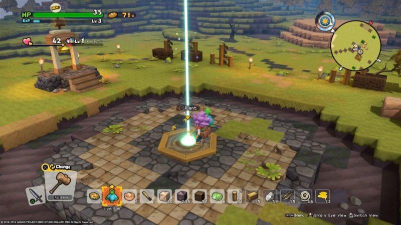 dragon quest builders 2 - furrowfield deitree