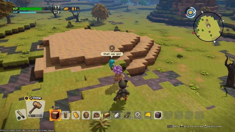 dragon quest builders 2 - furrowfield help