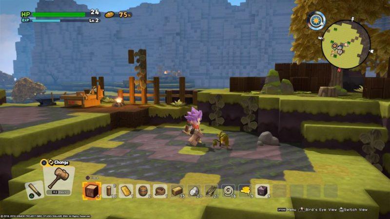 dragon quest builders 2 - furrowfield objective