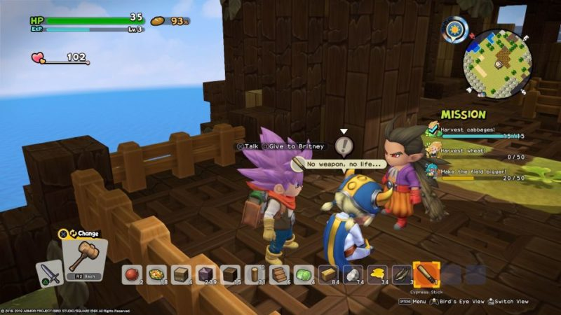 dragon quest builders 2 - furrowfield walkthrough (2)