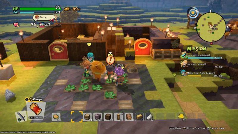 dragon quest builders 2 - furrowfield walkthrough