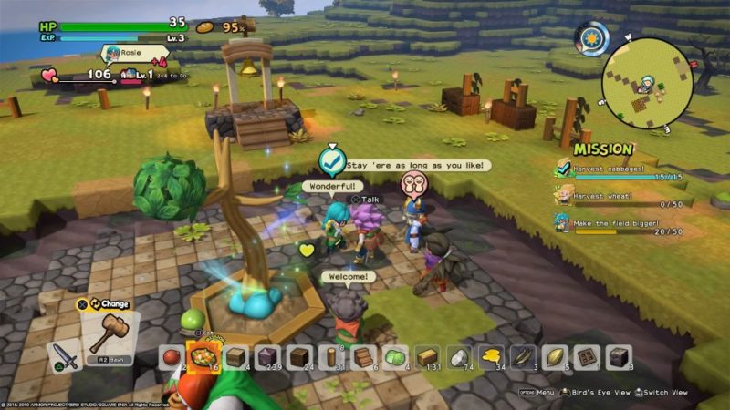 Furrowfield Walkthrough And Guide: Dragon Quest Builders 2