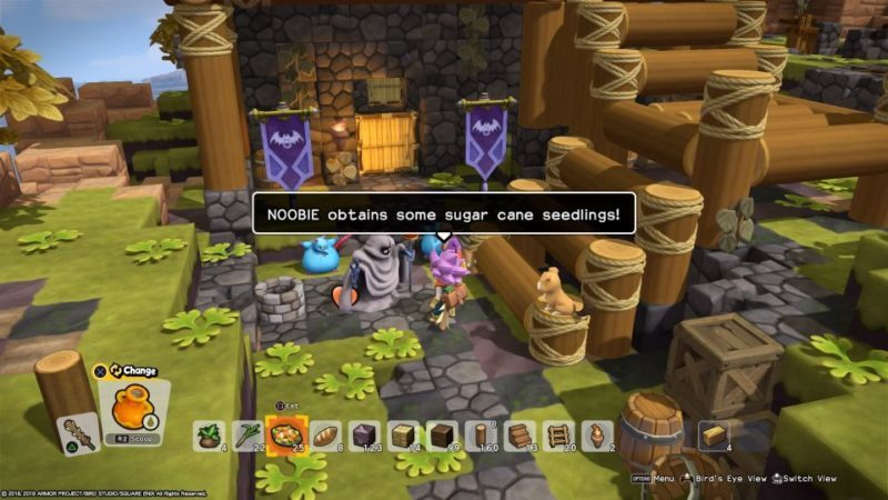 dragon quest builders 2 - how to get sugar cane seedlings