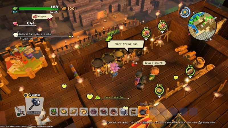 dragon quest builders 2 - how to make monster munchies