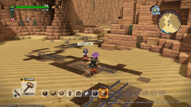 dragon quest builders 2 - khrumbul-dun guide tips