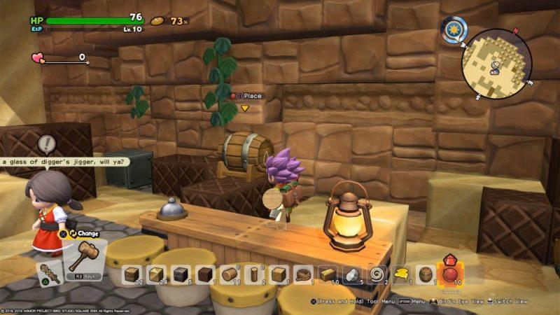 dragon quest builders 2 - khrumbul-dun quest