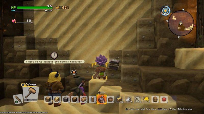 dragon quest builders 2 - khrumbul-dun quest tips