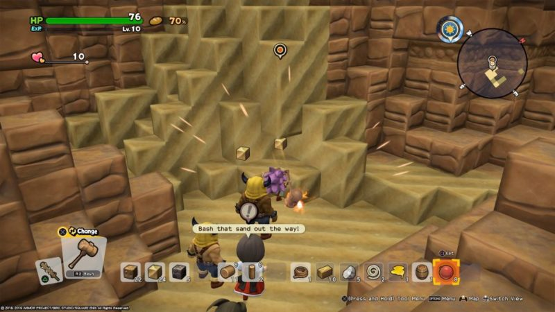 dragon quest builders 2 - khrumbul-dun quest walkthrough