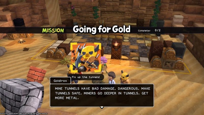 dragon quest builders 2 - khrumbul-dun tips