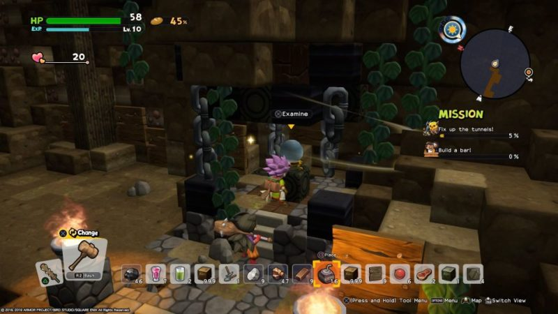 dragon quest builders 2 - khrumbul-dun tips and guide
