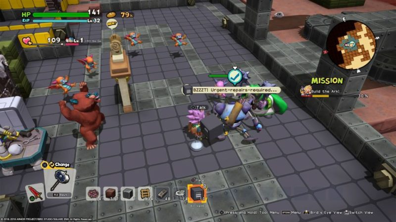 dragon quest builders 2 - malhalla what to do