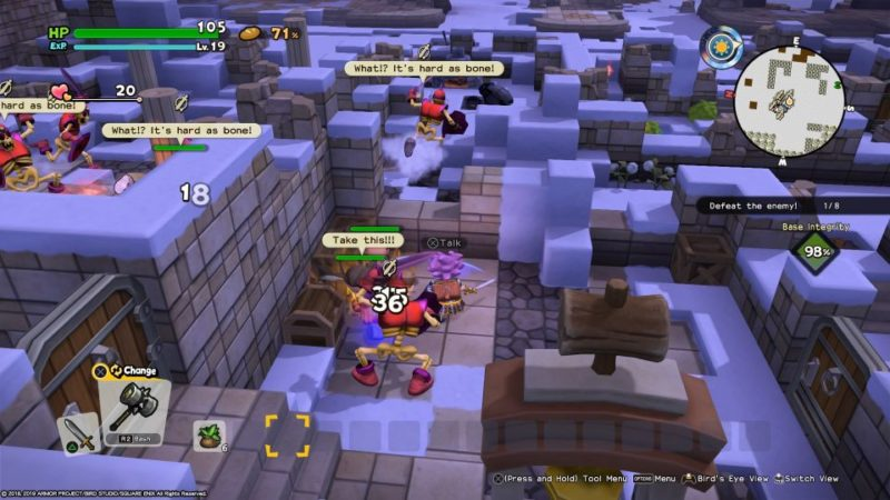 dragon quest builders 2 - moonbrooke mission tips