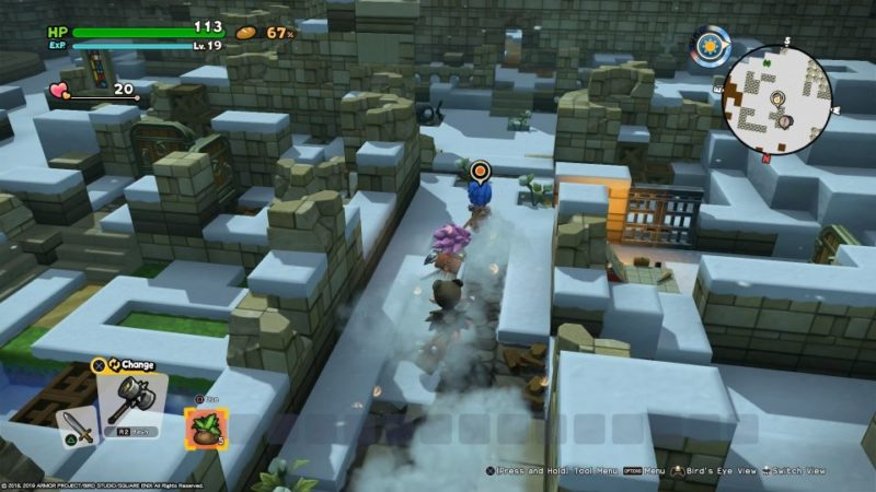 dragon quest builders 2 - moonbrooke mission walkthrough