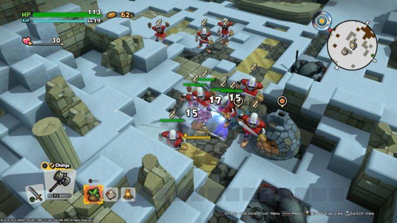 dragon quest builders 2 - moonbrooke walkthrough guide