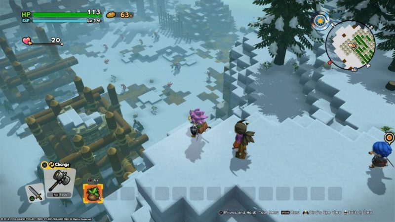 dragon quest builders 2 - moonbrooke what to do