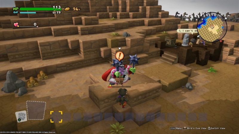 dragon quest builders 2 - skelkatraz guide tips