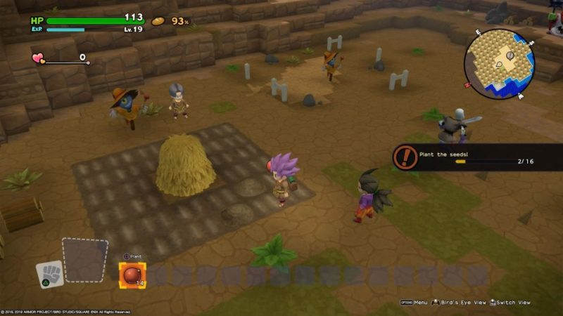 dragon quest builders 2 - skelkatraz quest