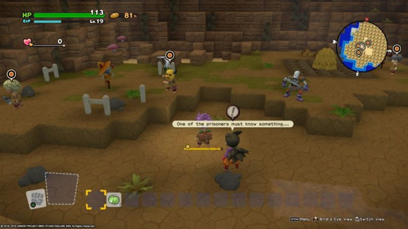 dragon quest builders 2 - skelkatraz tips